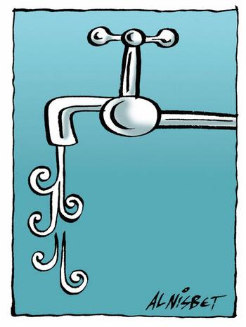 Tap dripping koru