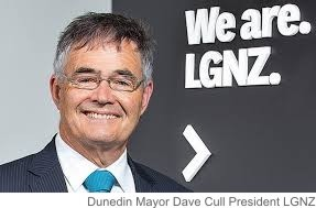 Dunedin Mayor Dave Cull, the President of Local Government New Zealand